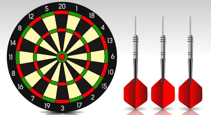 Spelregels darten en de soorten darts weddenschappen die mogelijk zijn