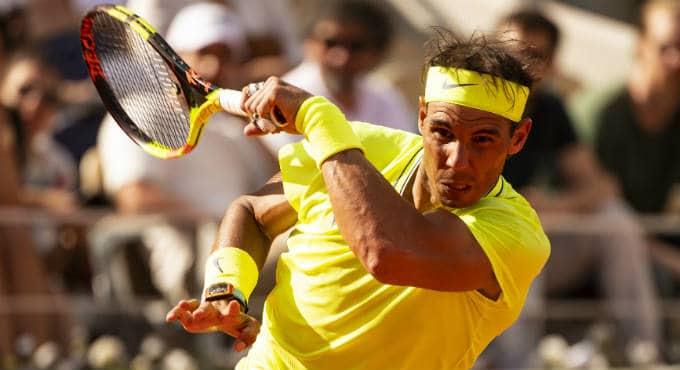 Bookmakers odds finale Roland Garros voorspellingen tennis: wedden op Nadal en wedstrijd Halep. Tips voor de beste French Open weddenschappen. | Getty