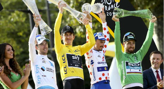 wedden Tour de France voorspellingen bookmakers   Getty