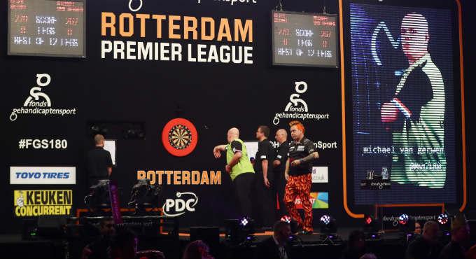 Premier League Darts speelschema   Getty