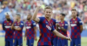 Voetbal betting tips FC Barcelona Frenkie de Jong | Getty