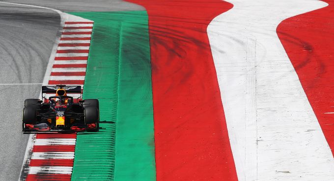 Formule 1 GP Oostenrijk: Max Verstappen begint op P3
