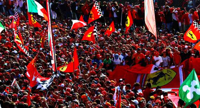Ferrari circuit Imola Formule 1