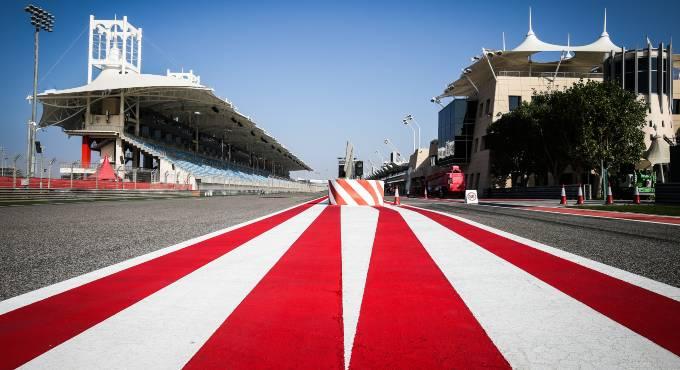 F1 circuit Sakhir